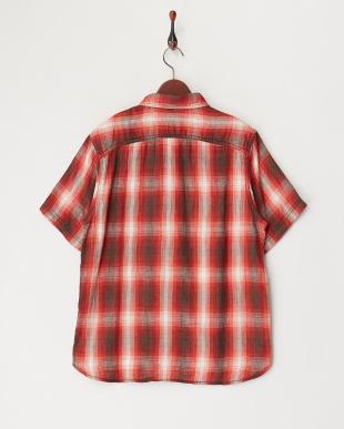 RED RED ダブルガーゼチェックシャツ見る