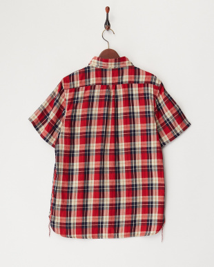 RED  チェックワークシャツ見る