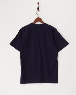 INDIGO  インディゴ刺繍デニムポケットTシャツ見る