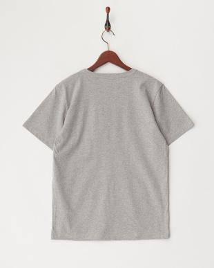 GREY  ARMYプリント刺繍Tシャツ見る