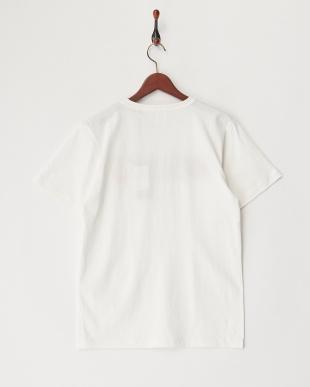 WHITE  ARMYプリント刺繍Tシャツ見る