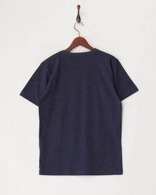 NAVY  USMCプリント刺繍Tシャツ見る