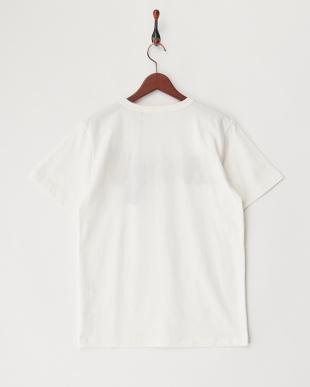 WHITE  USMCプリント刺繍Tシャツ見る