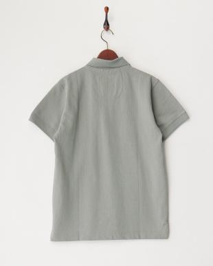 GREY  ヘビー鹿の子ポケットポロシャツ見る