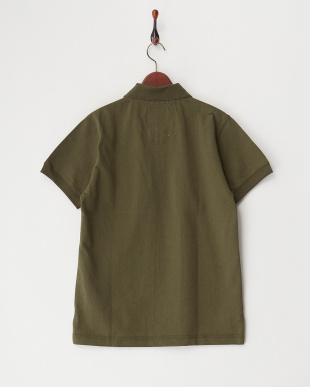 OLIVE DRAB  ヘビー鹿の子ポケットポロシャツ見る