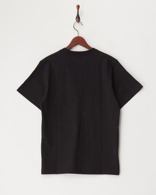 BLACK  ヘビー天竺ポケットTシャツ見る