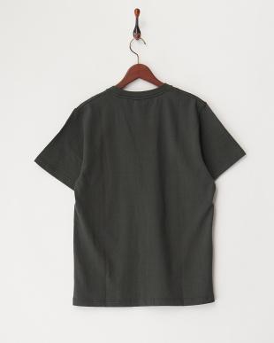 GREEN  ヘビー天竺ポケットTシャツ見る