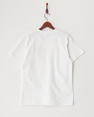 WHITE  ヘビー天竺ポケットTシャツ見る