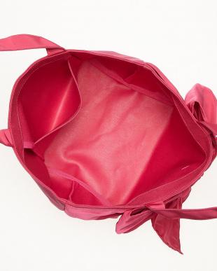 ピンク  ラップリボンミニトートバッグ見る