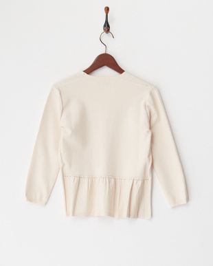 SAND  KNITTED JACKET PIREO見る
