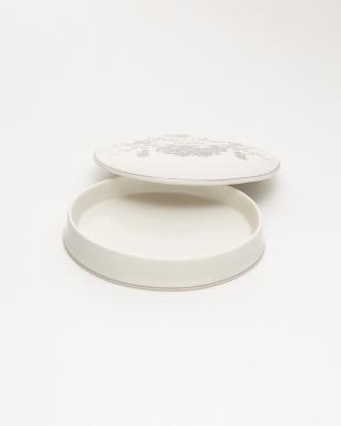 ホワイト ジュエリーボックス 陶器 ローズ見る