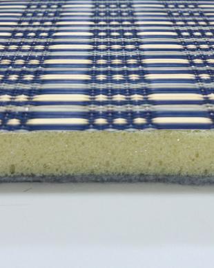 ブルー  仙名 ふっくらい草ラグ 180×180cm見る
