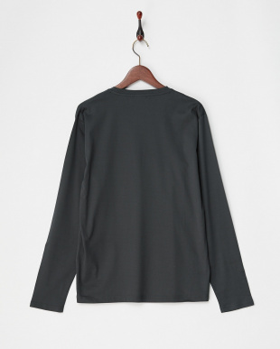 GRAY リブ編み長袖Tシャツ WH見る