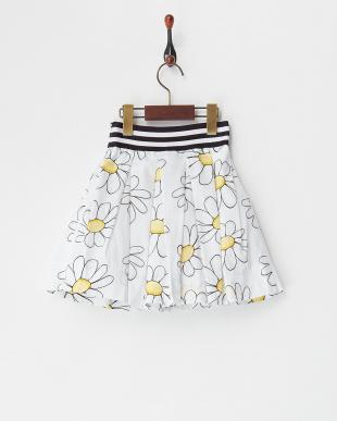 シロ  フラワープリントスカート(4Y~)見る