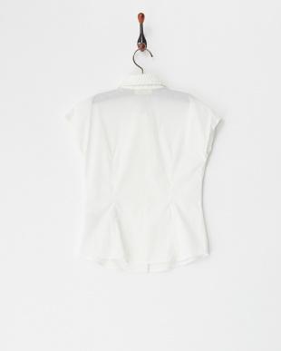 シロ ローズプリントメッシュカラーシャツ(6Y~)見る
