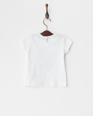 シロ  フロントプリントTシャツ(12M~)見る