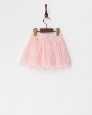 ピンク スパンコールアイスチュールスカート(12M~)見る