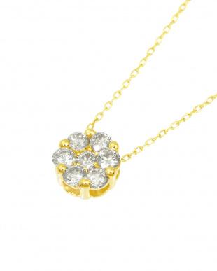 K18YG  天然ダイヤモンド 計0.3ct セブンストーンペンダント見る