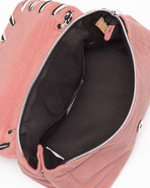 Pink  Vifデザインフラップバッグ見る
