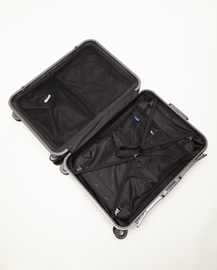 ブルーシルバー  ピエドラ Lサイズ 100L スーツケース見る