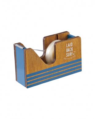 ブルー  OUTDOOR LIFE テープカッター 2個セット見る