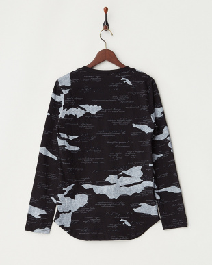 ブラック  タイガーポイント長袖Tシャツ見る