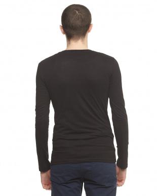 ブラック  FREEDOM 長袖Tシャツ見る