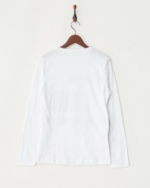 ホワイト  FREEDOM 長袖Tシャツ見る