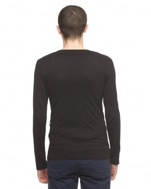 ブラック  FR FASHION 長袖Tシャツ見る