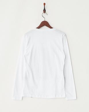 ホワイト  FR FASHION 長袖Tシャツ見る