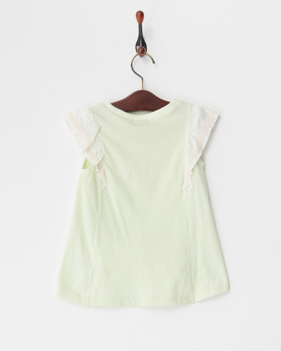 グリーン  プリーツTシャツ見る