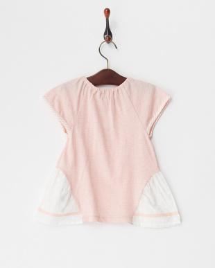 ピンク  チェリーTシャツ見る