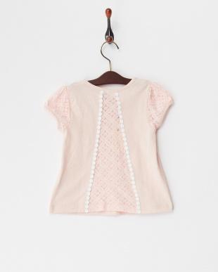 ピンク  レーシーTシャツ見る