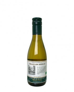 『いつでもフレッシュ!オーガニックワイン』シャルル・メラ・オーガニック・V.V.シャルドネ 187mL×6本セット見る