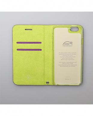 パープル  Foliocase iPhone7 Plus見る
