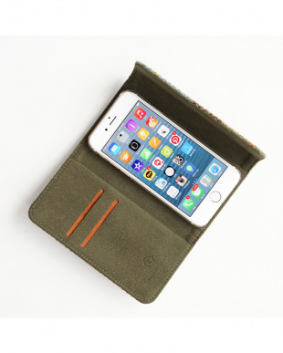BLUE CHECK Harris Tweed SECURE iPhone6 Plus/6s Plus用見る