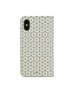 WINTER  Foliocase Pattern iPhoneX用見る