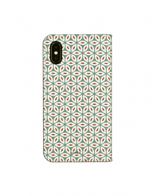 WINTER  Foliocase Pattern iPhoneX用見る