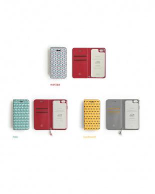 ELEPAHNT  Foliocase Pattern iPhone5用見る