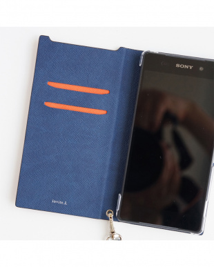 Orange  Foliocase Xperia Z5用見る