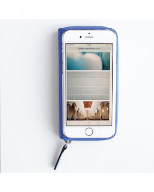 ROYAL BLUE  ZIP-Around iPhone6 Plus用見る