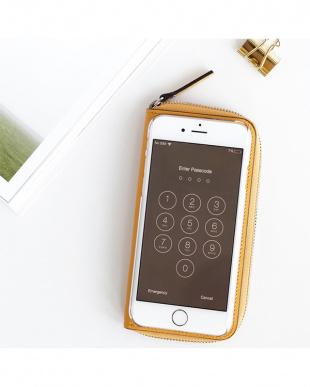 YELLOW  ZIP-Around iPhone6 Plus用見る