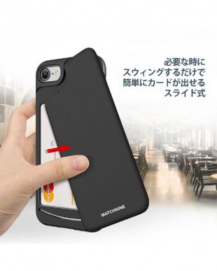 ブルーブラック  CARDLA SWING iPhone7用見る