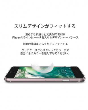 クリアピンク  HORI iPhone7用見る