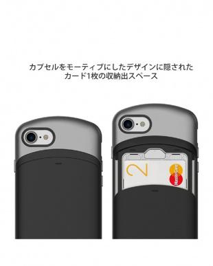 ブルーブラック  CARDLA CAPSULE iPhone7用見る