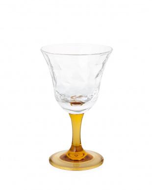 グレイシヤー/ワイングラス/アンバー 6個セット見る