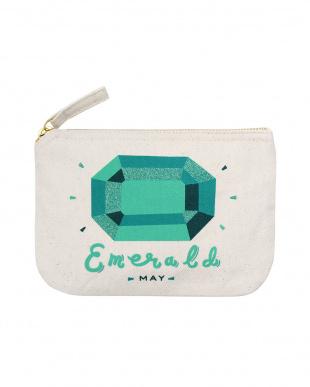 Emerald/ May  バースストーンポーチ見る