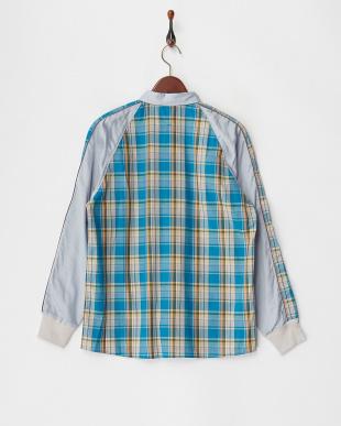 ブルー系  スカシャツ見る