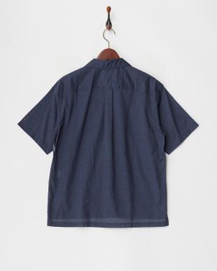 紺  ボウラー シャツ見る