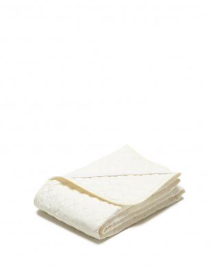 アイボリー  消臭・抗菌加工綿敷パット シングル見る